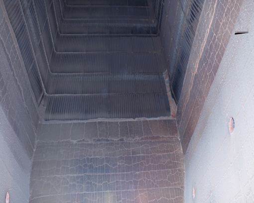 疏导形防磨板